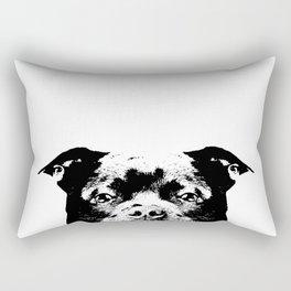 Staffordshire Bull Terrier Dog Rectangular Pillow