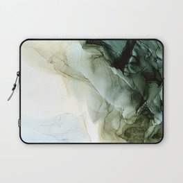 Land and Sky Abstract Landscape Painting Laptop Sleeve