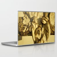 angels Laptop & iPad Skins featuring Angels by David Jessamy