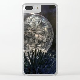 The spirit of winter Clear iPhone Case