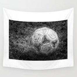 Soccer ball Wall Tapestry