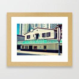 Old Vegas Framed Art Print