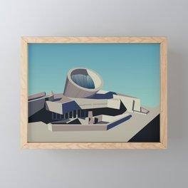 Soviet Modernism: Youth Metro Station in Yerevan, Armenia Framed Mini Art Print