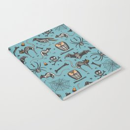 Halloween X-Ray Blue Notebook