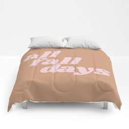 all fall days Comforters