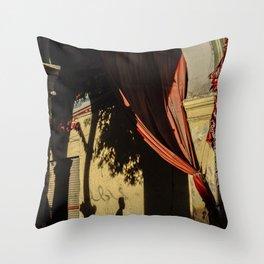 Cairo street Throw Pillow