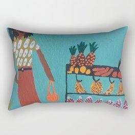 fruit shopping Rectangular Pillow