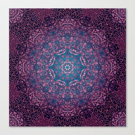 magic mandala 36 #mandala #magic #decor Canvas Print