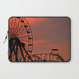 Sundown in Fun Town Laptop Sleeve