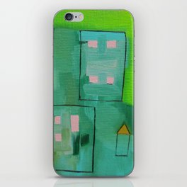 Tiny Houses iPhone Skin