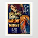 Vintage poster - The Mummy by mosfunky
