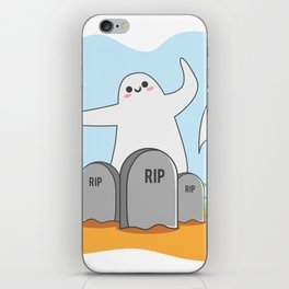 The Happy Ghost iPhone Skin