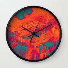 Alpha Wall Clock