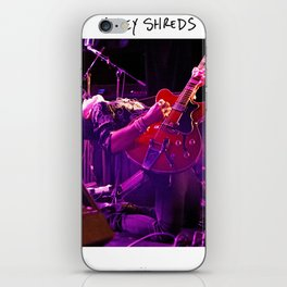 Birds in the Boneyard, Print Two: Mikey Shreds iPhone Skin