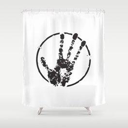 E.T. Hand Print Shower Curtain