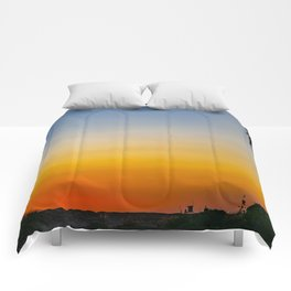 The Colors of Sunset Comforters
