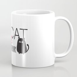 my cat is my shrink Coffee Mug