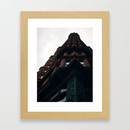 Chemical Building Framed Art Print
