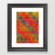 the elementals Framed Art Print