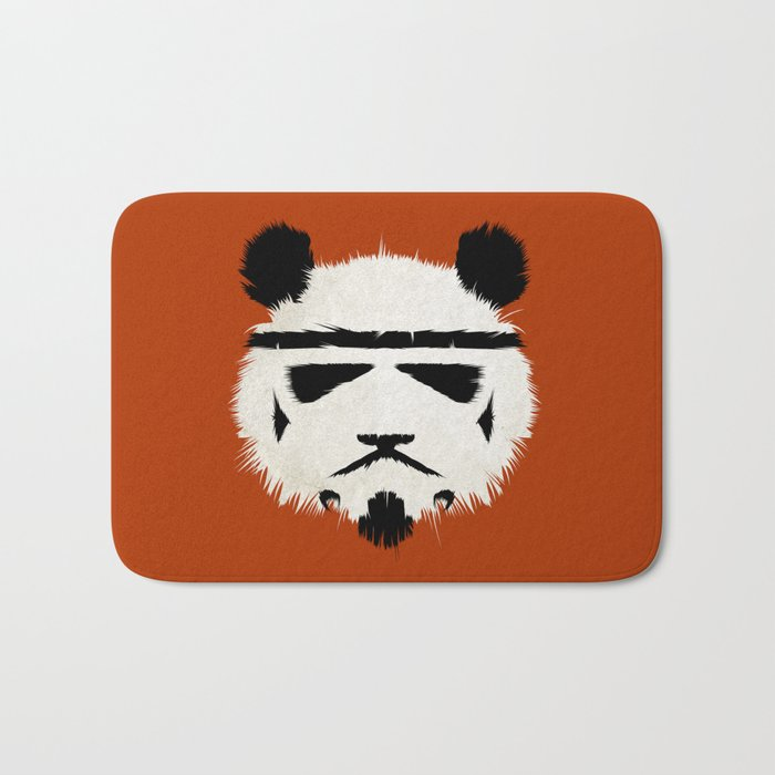 Panda Trooper Bath Mat