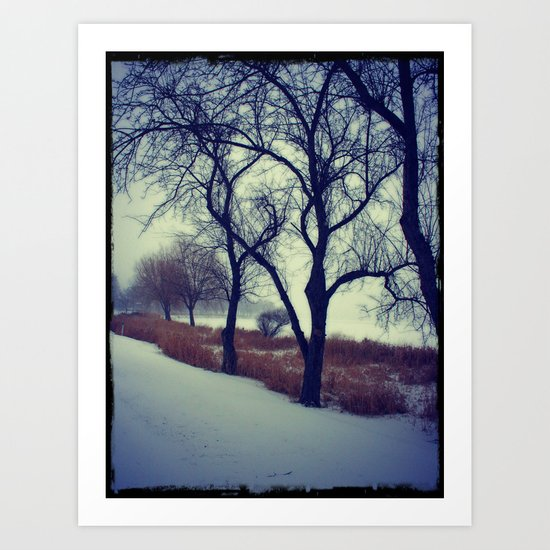 Winter Silence Art Print