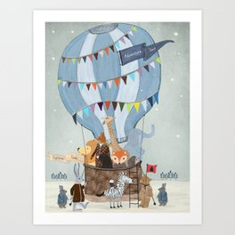 little adventure days Art Print