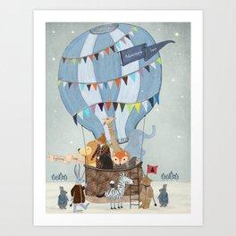 little adventure days Art Print