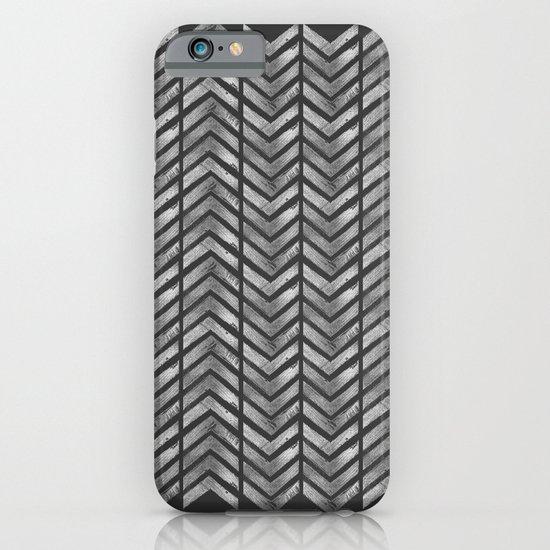 STAMPS SERIES N3 HERRINGBONE BLACK iPhone & iPod Case