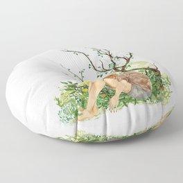 Malia Tate, Summer Floor Pillow