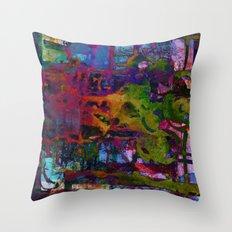 colors fusion Throw Pillow