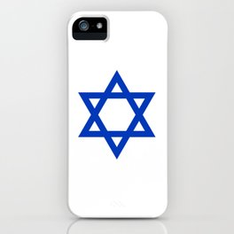 Blue Hexagram iPhone Case