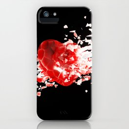 Unstable Love iPhone Case