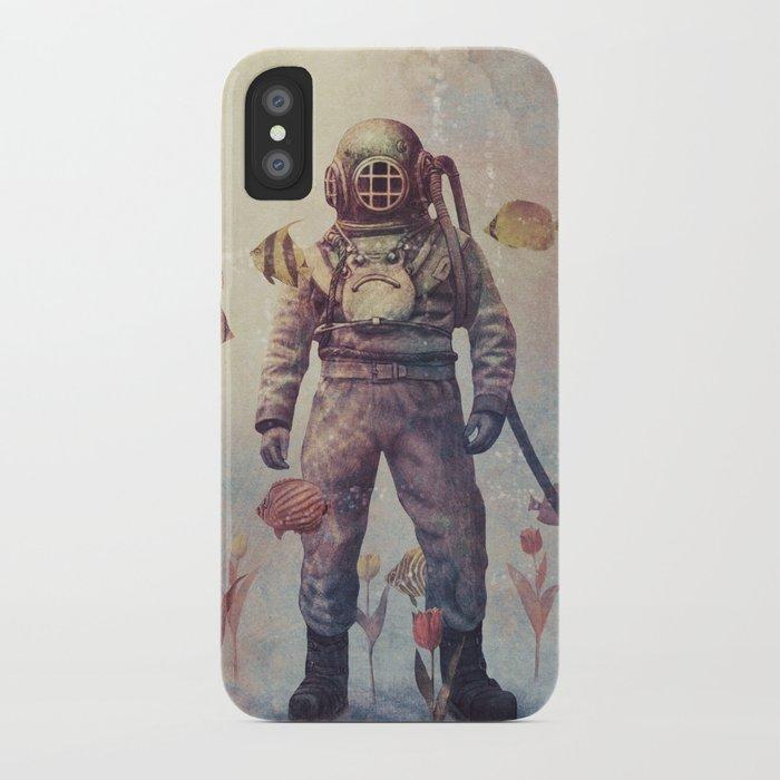 Deep Sea Garden - colour option iPhone Case