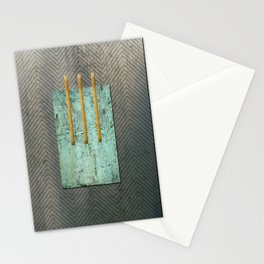 Metal Composition I Stationery Cards