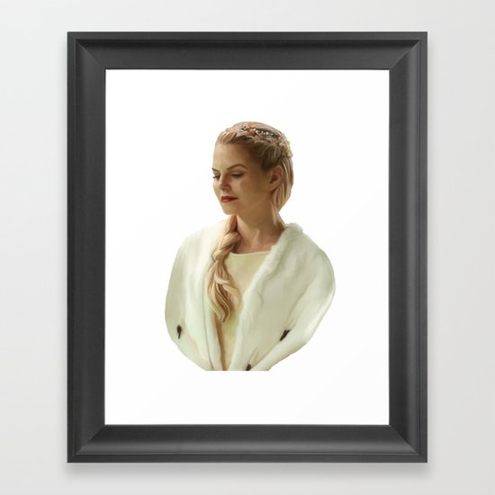 The Lost Princess Framed Art Print