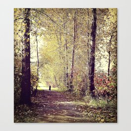 Story Book Forest Canvas Print