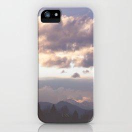 Rocky Mountain Lavendar iPhone Case