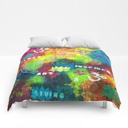 Spirit Inspired Art & Living Comforters