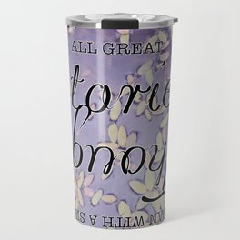 All Great Stories Travel Mug