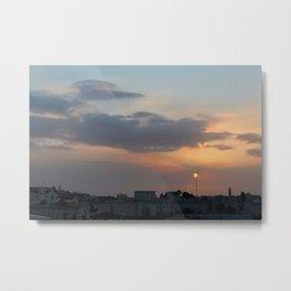 Sunrise in Jerusalem Metal Print