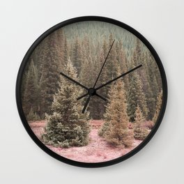 Look For Me In The Trees Wall Clock