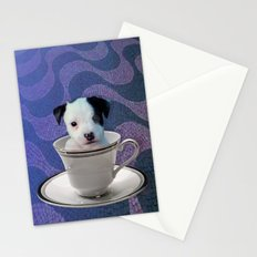 Pup in a Cup Stationery Cards