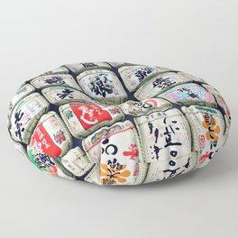 japanese barrels Floor Pillow