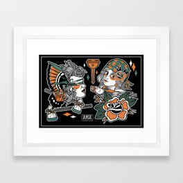 Flash Sheet #1 Framed Art Print