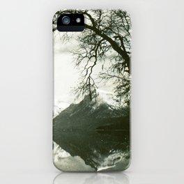 Glacier Park Lake McDonald August 1937 iPhone Case