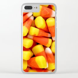 Candy Corn, Yes Clear iPhone Case