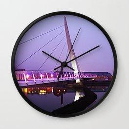 The Swansea Sail Bridge. Wall Clock