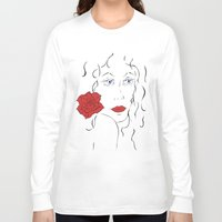 spanish Long Sleeve T-shirts featuring Spanish women by Black-Dragon