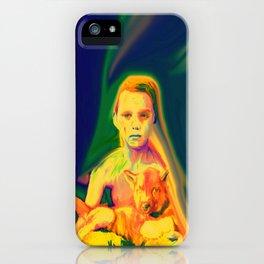 Wolf Boy iPhone Case