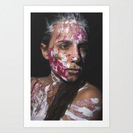 Colors of Women, C.F. 2 Art Print